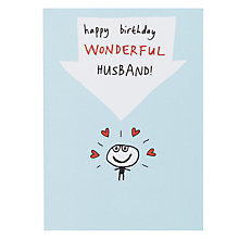 Buy Paperlink Husband Birthday Card Online at johnlewis.com