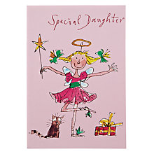 Buy Woodmansterne Ballerina Daughter Birthday Card Online at johnlewis.com