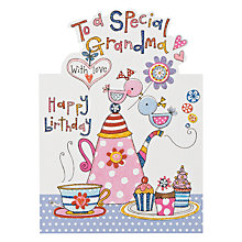 Buy Rachel Ellen Special Grandma Birthday Card Online at johnlewis.com