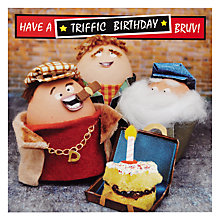 Buy Hotchpotch Triffic Brother Birthday Card Online at johnlewis.com
