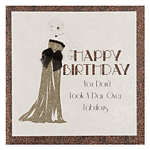 Buy Five Dollar Shake Day Over Fabulous Birthday Card Online at johnlewis.com