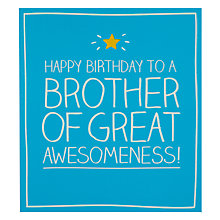 Buy Pigment Brother Birthday Card Online at johnlewis.com