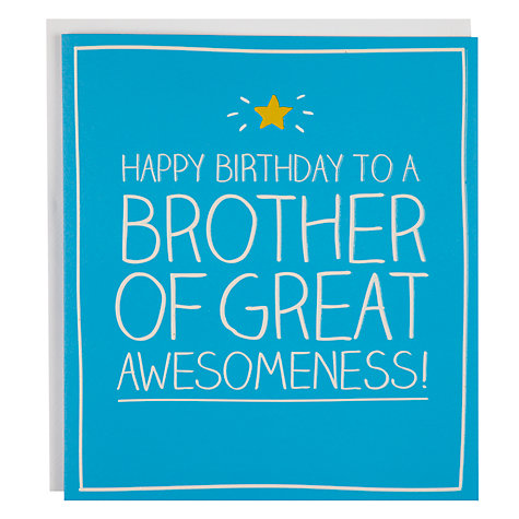 Happy Jackson Cards Happy Jackson Brother Birthday