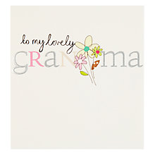 Buy Caroline Gardner Grandma Birthday Card Online at johnlewis.com