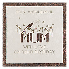 Buy Five Dollar Shake To A Wonderful Mum Birthday Card Online at johnlewis.com