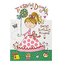 Buy Rachel Ellen Designs Special Daughter Birthday Card Online at johnlewis.com