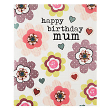 Buy Really Good Mum Flowers Birthday Card Online at johnlewis.com