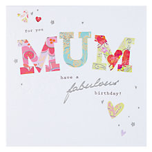 Buy Hotch Potch For You Mum Birthday Card Online at johnlewis.com