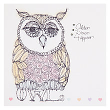 Buy Valerie Valerie Old Wise Happy Greeting Card Online at johnlewis.com