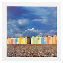 Buy PJF Photography Pastel Huts Greeting Card Online at johnlewis.com