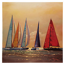 Buy Woodmansterne Sailing Boats Birthday Card Online at johnlewis.com
