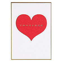 Buy Lagom Designs Together Greeting Card Online at johnlewis.com