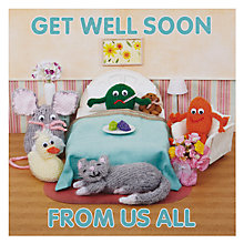Buy Mint From all of Us Get Well Card Online at johnlewis.com
