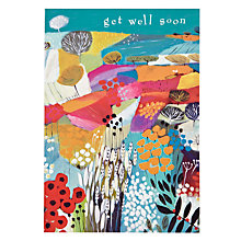 Buy Woodmansterne Colourful Landscape Get Well Card Online at johnlewis.com