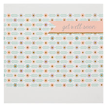 Buy Woodmansterne Floral Banner Pattern Get Well Card Online at johnlewis.com