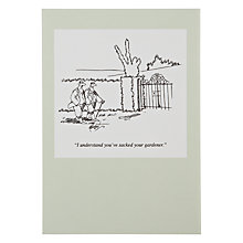 Buy Woodmansterne Two Men Walking Greeting Card Online at johnlewis.com
