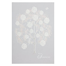 Buy Woodmansterne Tree Sympathy Card Online at johnlewis.com