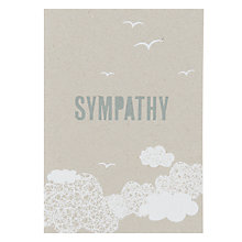 Buy Velvet Olive Sympathy Card Online at johnlewis.com