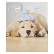 Buy Woodmansterne Chin Up Get Well Card Online at johnlewis.com