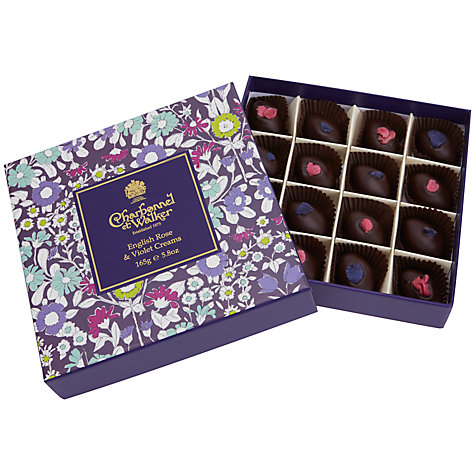 Buy Charbonnel et Walker Rose & Violet Creams, 165g Online at johnlewis.com