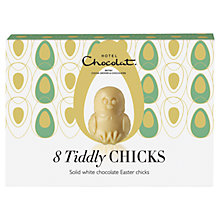 Buy Hotel Chocolat White Chocolate Tiddly Chicks, 85g Online at johnlewis.com
