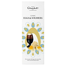 Buy Hotel Chocolat Milk Chocolate Classic Egg and Soldiers, 95g, Buy 4 Save £4 Online at johnlewis.com