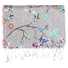 Buy Warehouse Trailing Blossom Print Scarf, Cream Online at johnlewis.com