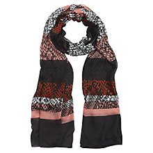 Buy Hobbs Stripe Snake Scarf, Multi Online at johnlewis.com