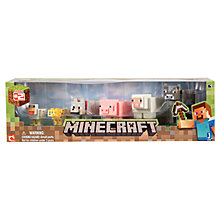 Buy Minecraft Animal Mob Pack, Series 2 Online at johnlewis.com