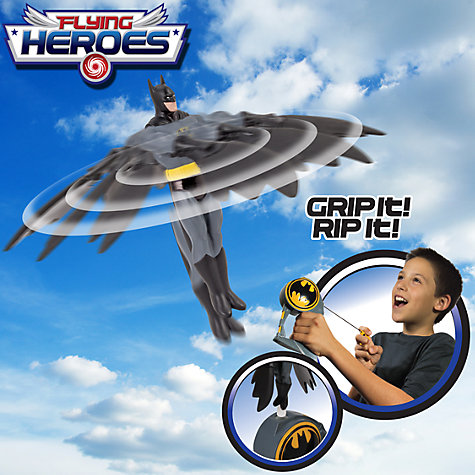 Buy Flying Heroes Batman Flying Toy Online at johnlewis.com