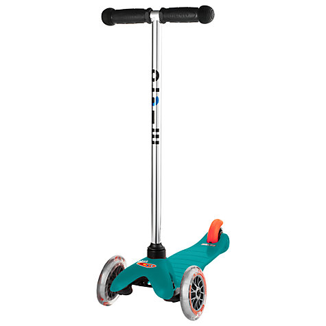 Buy Micro Scooters Mini Micro T-Bar Scooter, Aqua Online at johnlewis.com