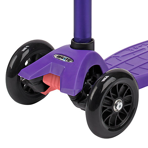 Buy Micro Scooters Maxi Micro Scooter, Purple Online at johnlewis.com