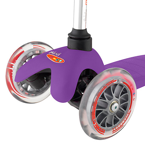 Buy Micro Scooters Mini Micro T-Bar Scooter, Purple Online at johnlewis.com