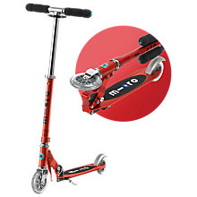 Buy Micro Scooters Micro Sprite Scooter, Red Online at johnlewis.com