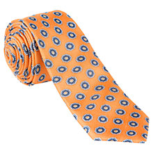 Buy Ben Sherman Tailoring Flower Print Silk Tie Online at johnlewis.com