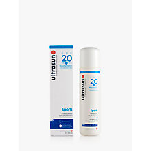 Buy Ultrasun SPF 20 Sports Sun Gel, 200ml Online at johnlewis.com