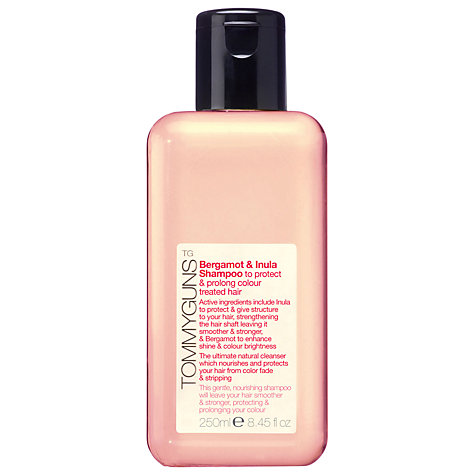 Buy TommyGuns Bergamot & Inula Colour Protection Shampoo, 250ml Online at johnlewis.com