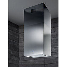 Buy Elica Kuadra Island 43 Chimney Cooker Hood, Stainless Steel Online at johnlewis.com