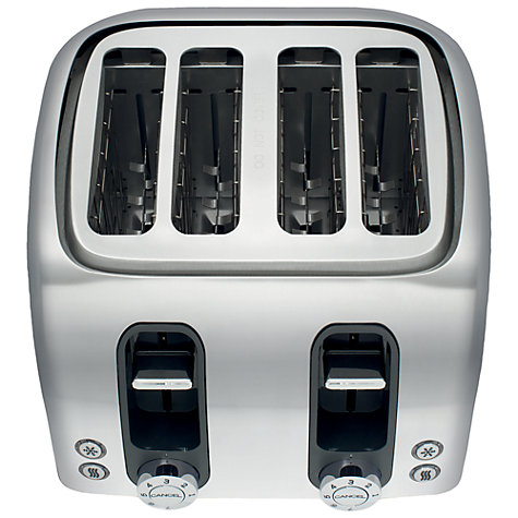 Buy AEG AT7104RU 4-Slice Toaster, Gloss Red Online at johnlewis.com