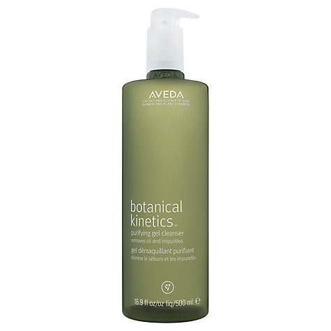 Buy AVEDA Botonical Kinetics Purfiying Gel Cleanser, 500ml Online at johnlewis.com