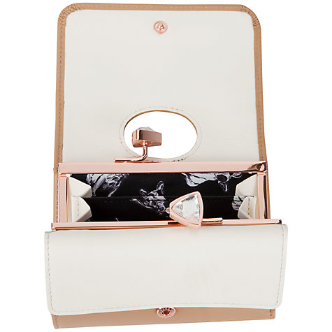 Buy Ted Baker Caaro Leather Bow Detail Purse Online at johnlewis.com