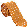 Buy Ben Sherman Spot Silk Tie, Gold Online at johnlewis.com