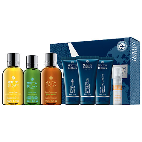 Buy Molton Brown Men's Carry-On Travel Collection Online at johnlewis.com