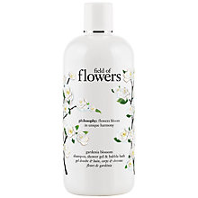 Buy Philosophy Field Of Flowers Gardenia Blossom Shower Gel, 480ml Online at johnlewis.com