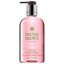 Buy Molton Brown Rhubarb & Rose Hand Wash, 300ml Online at johnlewis.com