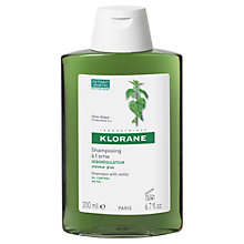 Buy Klorane Shampoo with Nettle, 200ml Online at johnlewis.com