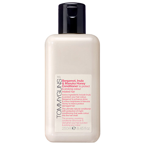 Buy TommyGuns Bergamot, Inula & Manuka Honey Colour Protection Conditioner, 250ml Online at johnlewis.com