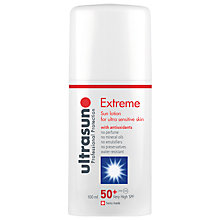Buy Ultrasun Extreme Ultra Sensitive SPF 50+ Sun Cream, 100ml Online at johnlewis.com