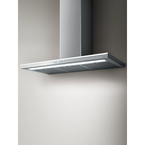 Buy Elica Luna Island Chimney Cooker Hood, Stainless Steel Online at johnlewis.com