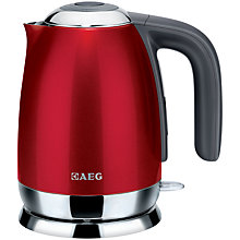 Buy AEG Kettle and 4-Slice Toaster, Gloss Red Online at johnlewis.com